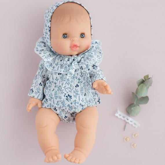 Conjunto 3 piezas Guadiamar muñeca