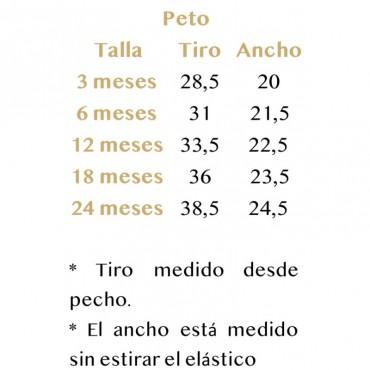 Peto Pizarrosa