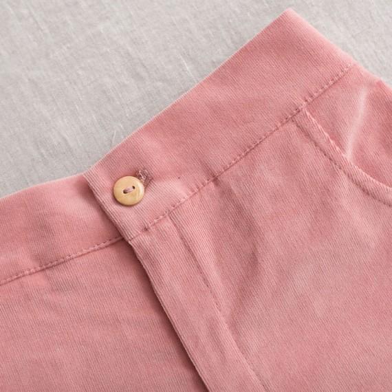 Pantalón corto micropana rosa