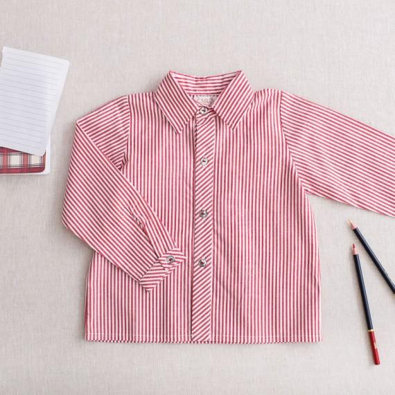 Camisa borgoña